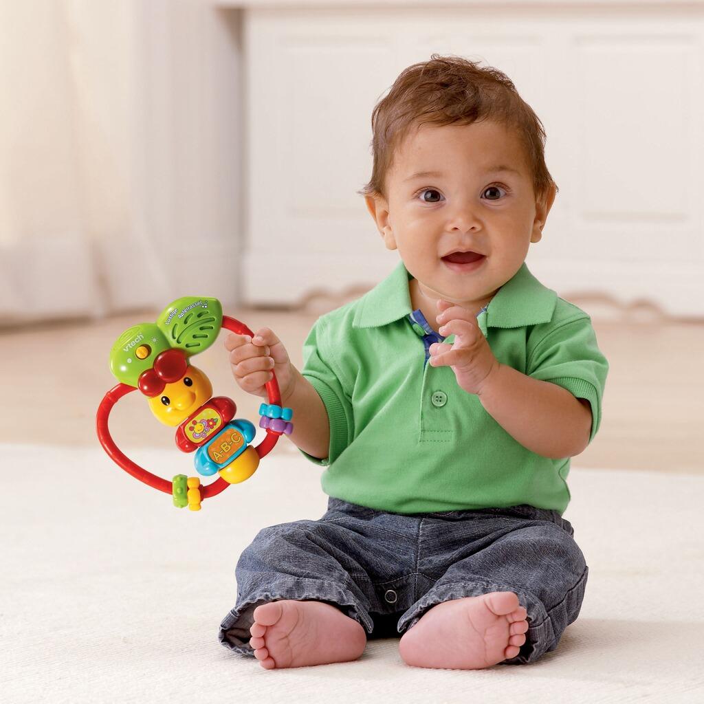 vtech baby rassel lustige apfelrassel online kaufen baby. Black Bedroom Furniture Sets. Home Design Ideas