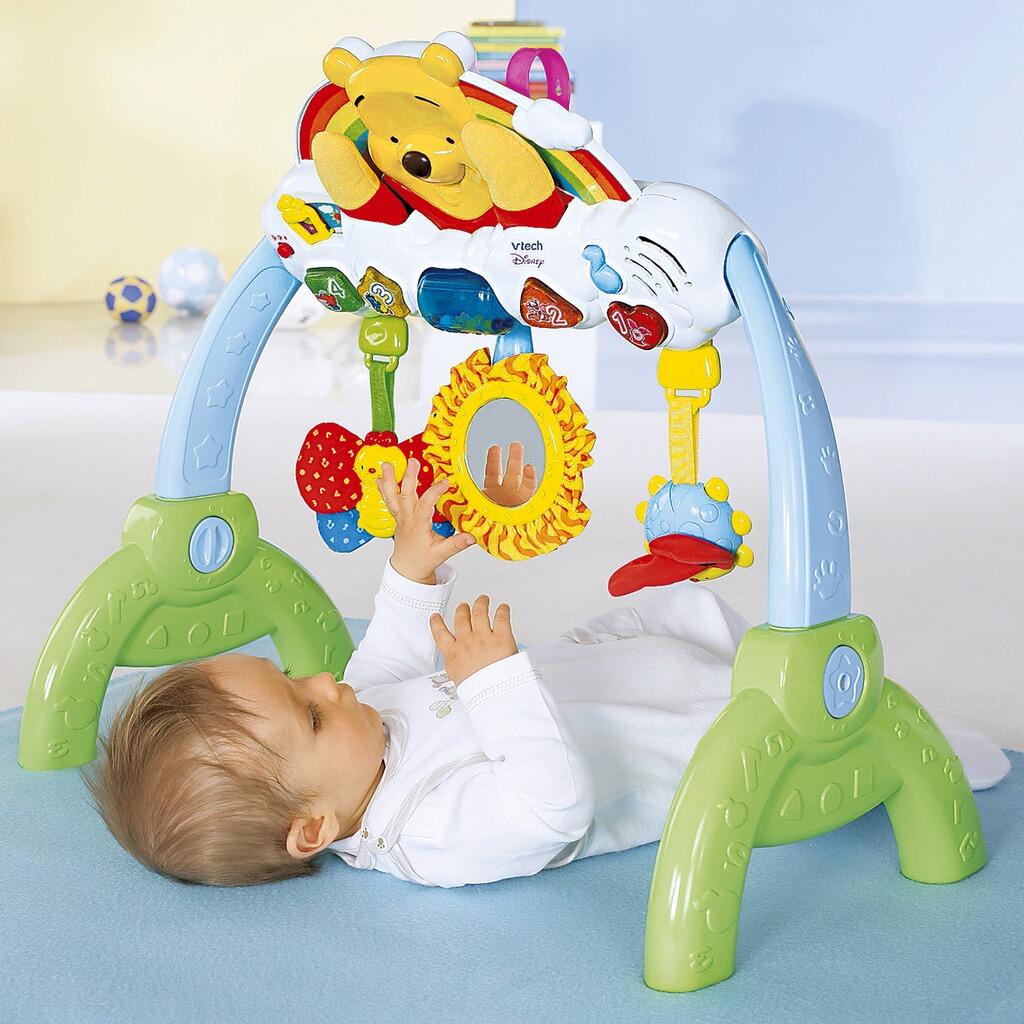 vtech disney winnie puuh musikspielzeug lernspa center 2 in 1 online kaufen baby walz. Black Bedroom Furniture Sets. Home Design Ideas