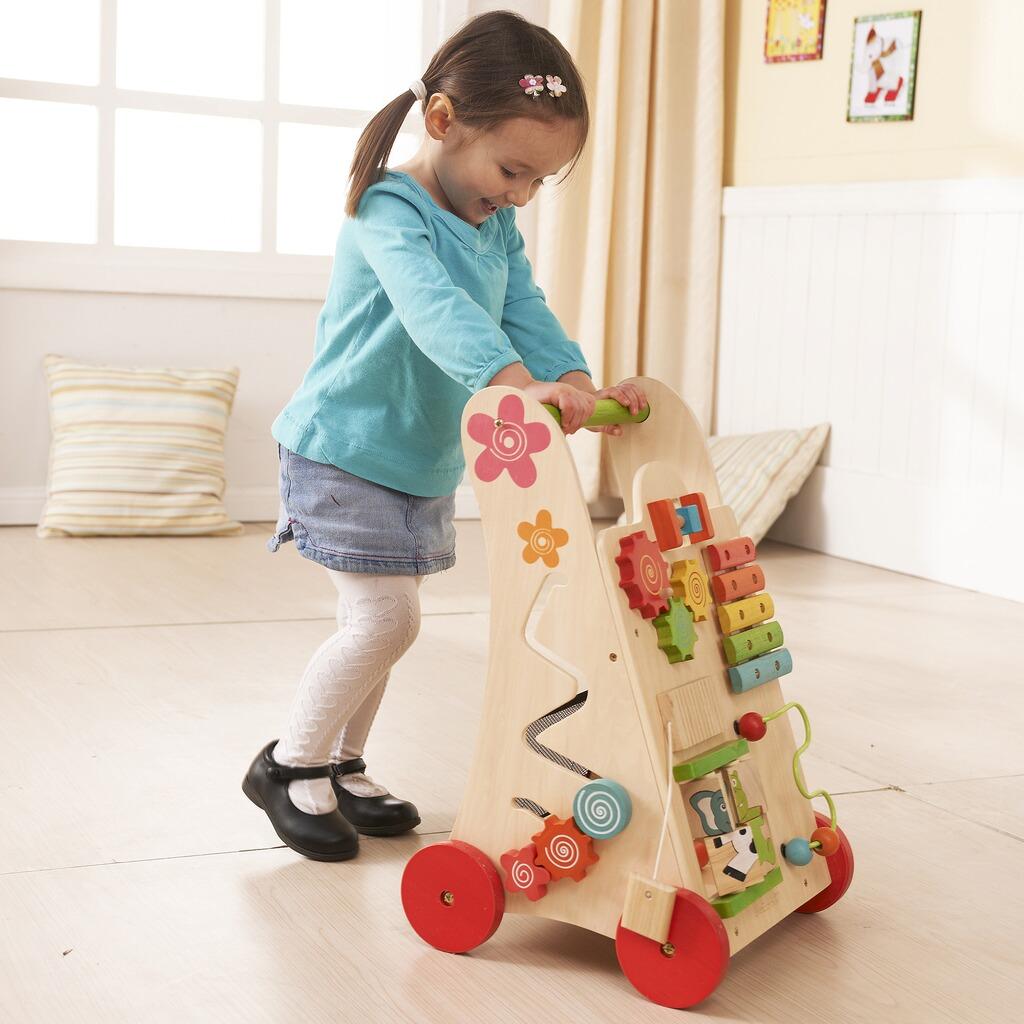 Everearth lauflernwagen spielzeug in aus holz online