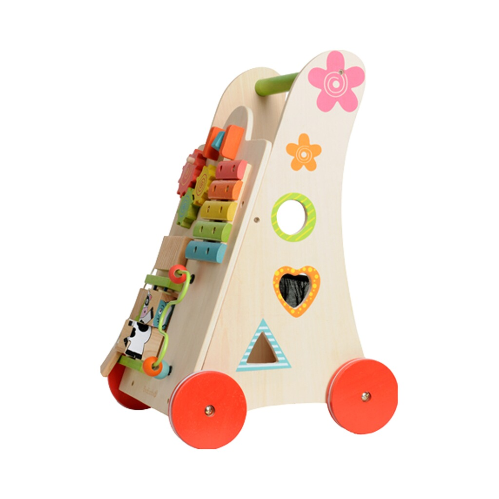 everearth lauflernwagen spielzeug 2 in 1 aus holz online kaufen baby walz. Black Bedroom Furniture Sets. Home Design Ideas