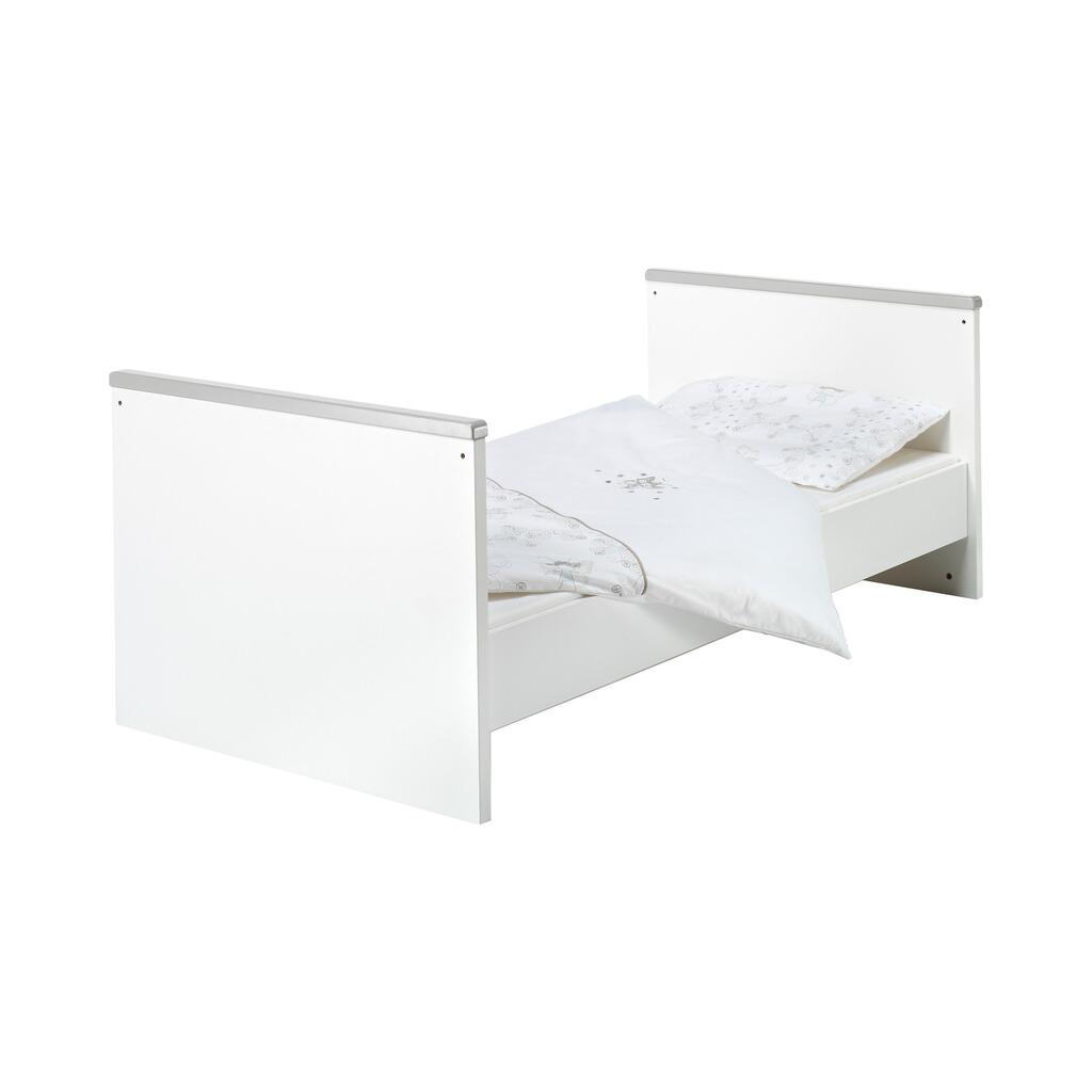 Schardt 3 Tlg Babyzimmer Eco Silber Mit 3 Türigem Kleiderschrank