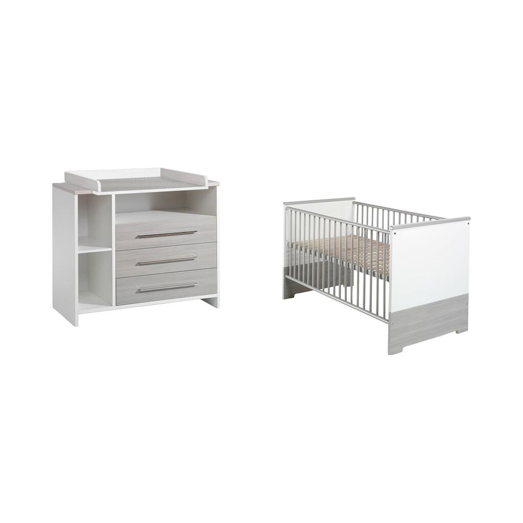 Schardt 2 Tlg Babyzimmer Eco Silber Online Kaufen Baby Walz