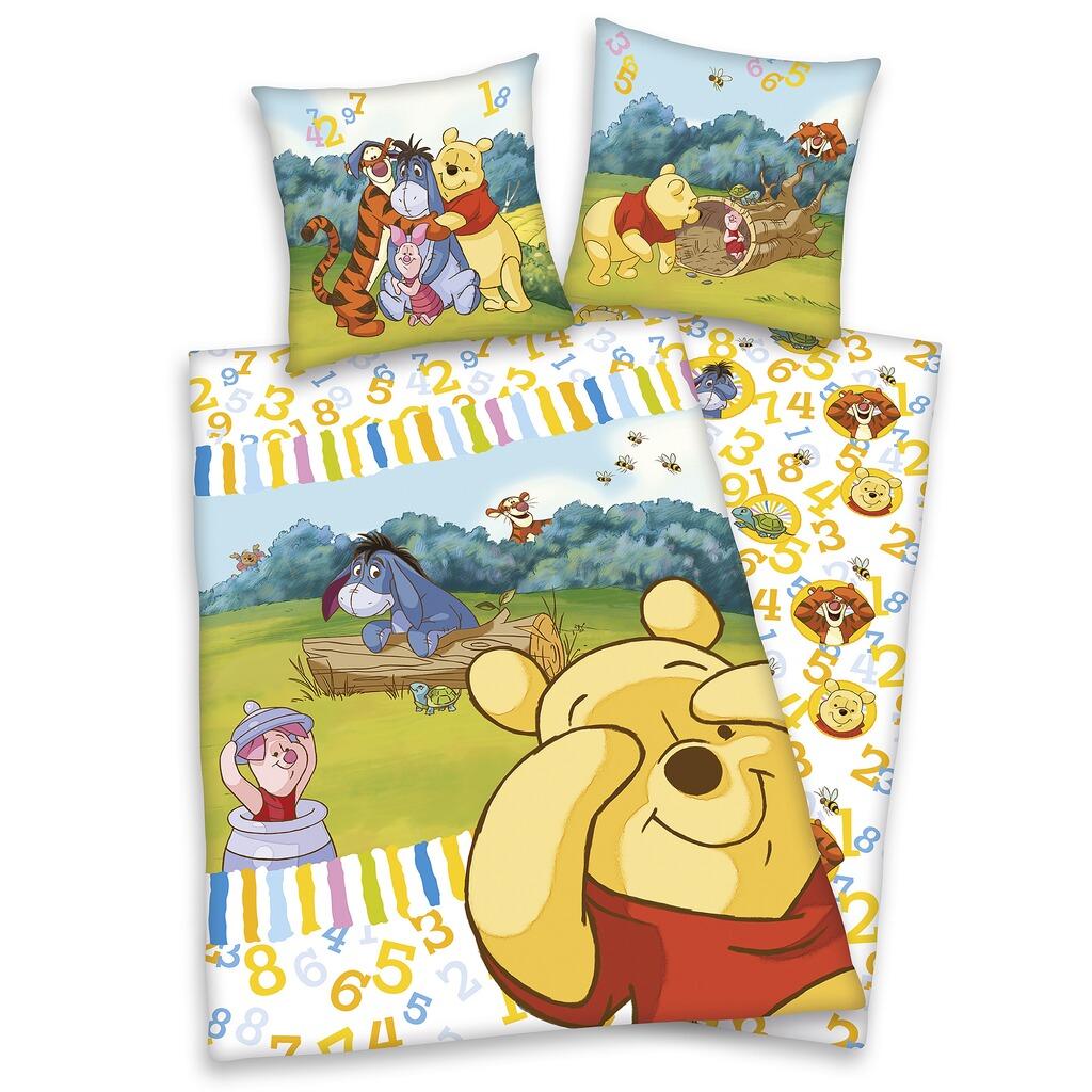 Disney Winnie Puuh Biber Bettwäsche 40x60 100x135 Cm Online Kaufen
