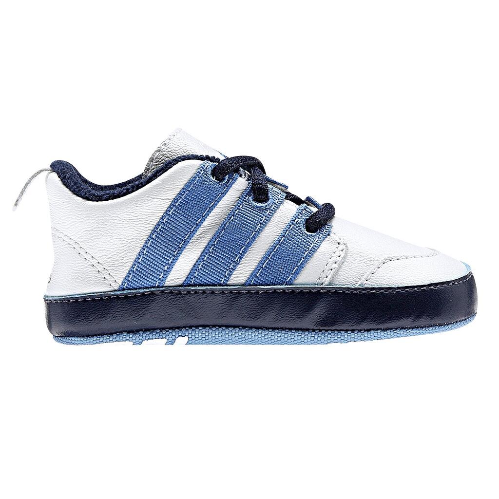 adidas Babyschuhe weißblau