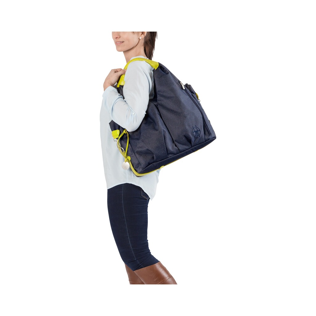 Lässig GREEN LABEL Wickeltasche Neckline Bag  denim blue 5
