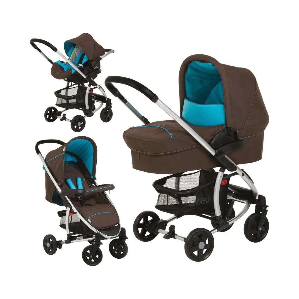 hauck kombikinderwagen miami 4 trio set design 2015 online kaufen baby walz. Black Bedroom Furniture Sets. Home Design Ideas