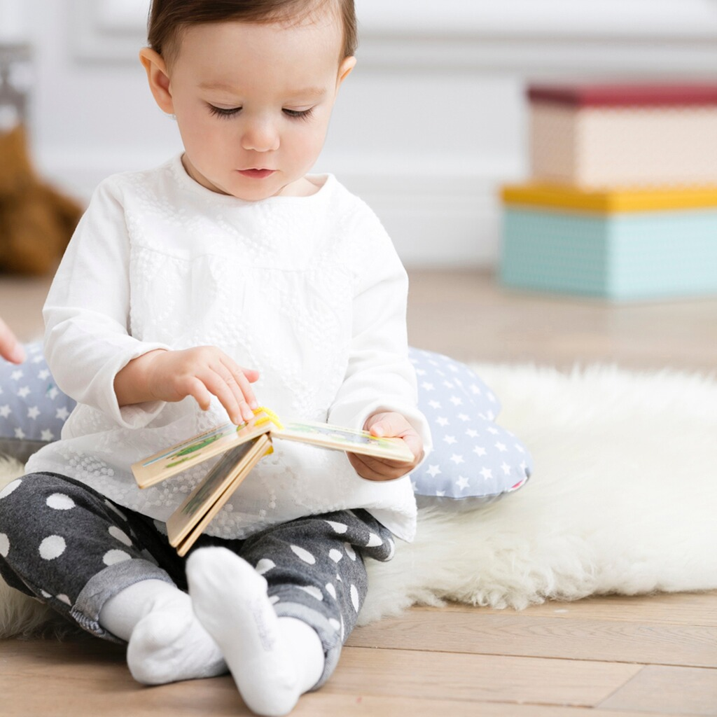 solini baby 39 s erstes buch tiere online kaufen baby walz. Black Bedroom Furniture Sets. Home Design Ideas