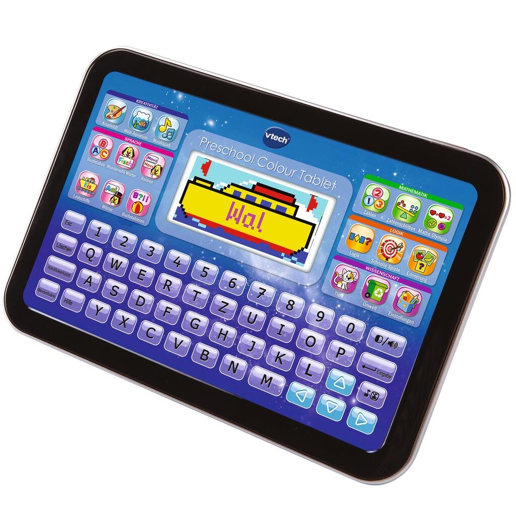 vtech ready set school tablet preschool colour online. Black Bedroom Furniture Sets. Home Design Ideas