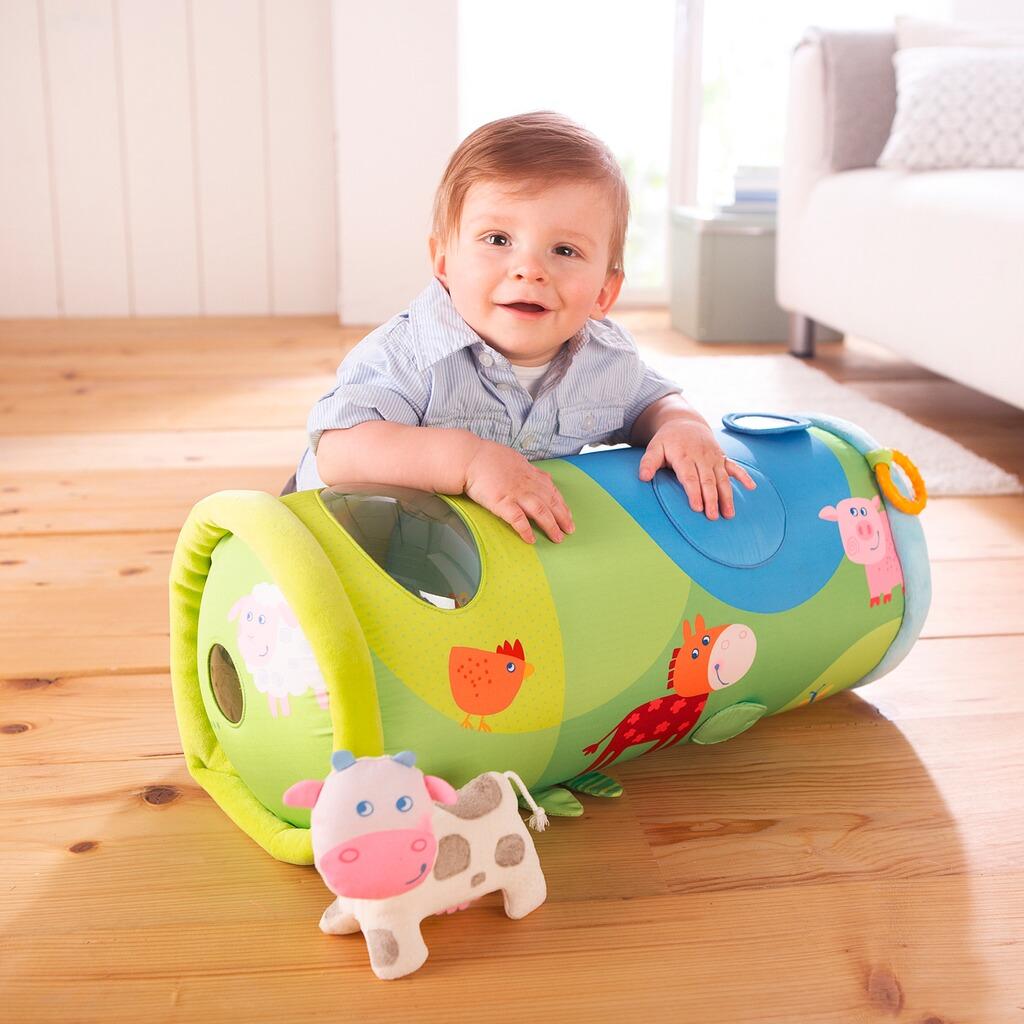 haba krabbelrolle bauernhof online kaufen baby walz. Black Bedroom Furniture Sets. Home Design Ideas