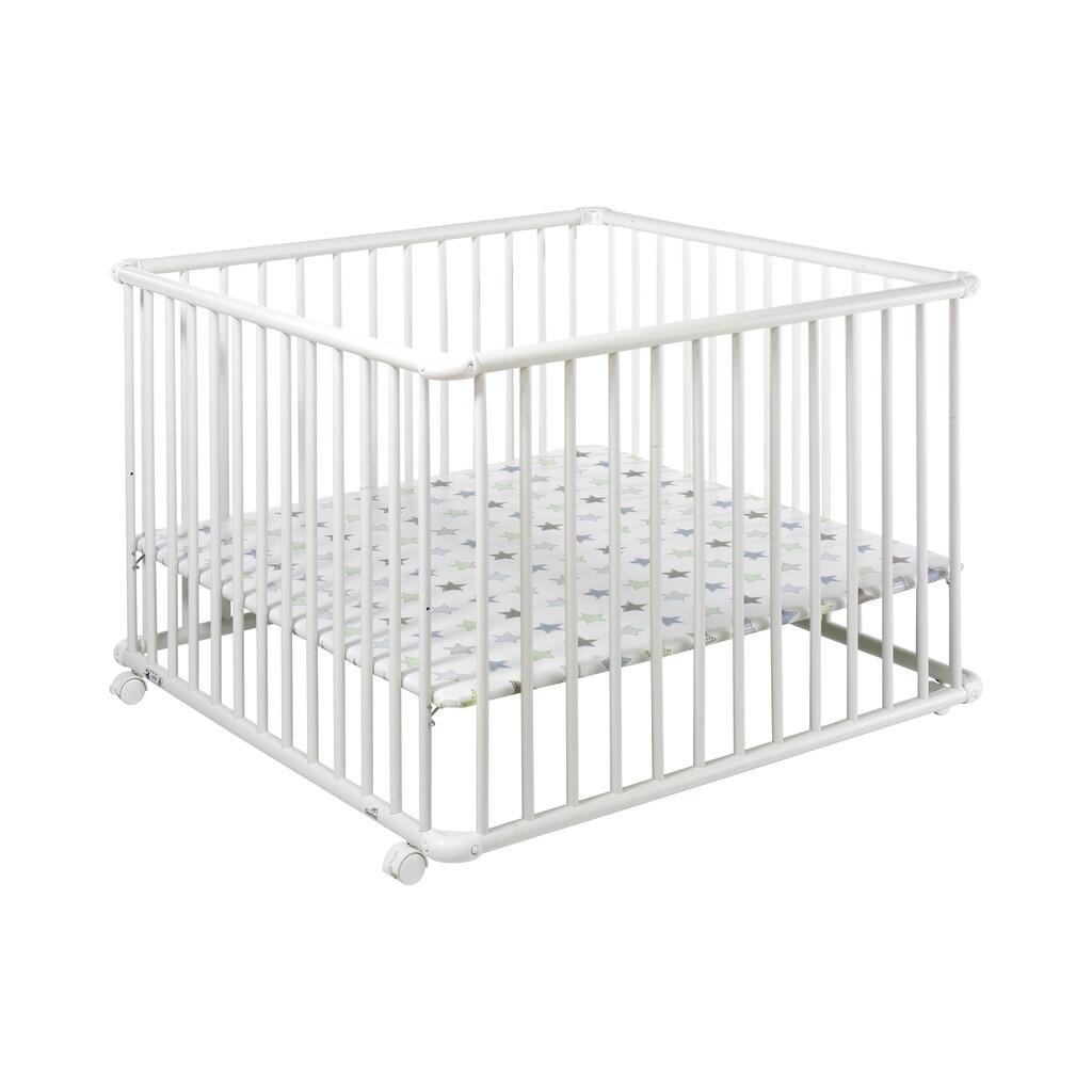 geuther laufgitter belami h henverstellbar 102x102 cm online kaufen baby walz. Black Bedroom Furniture Sets. Home Design Ideas