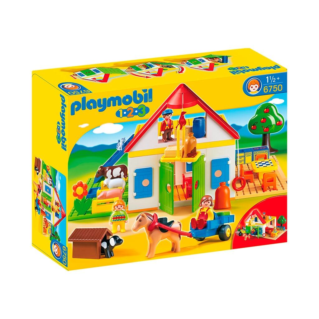 Playmobil 123 6750 Mein Großer Bauernhof Online Kaufen Baby Walz