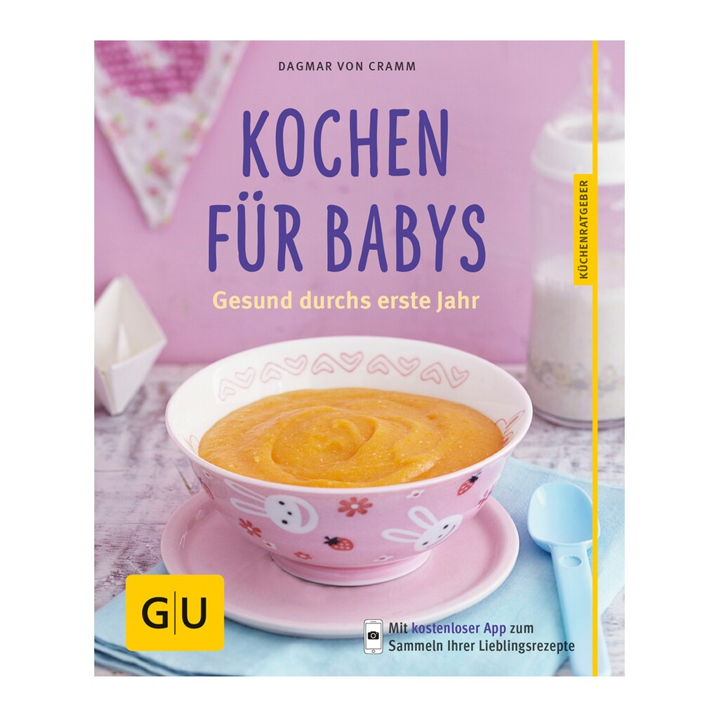 gu kochbuch kochen f r babys online kaufen baby walz. Black Bedroom Furniture Sets. Home Design Ideas