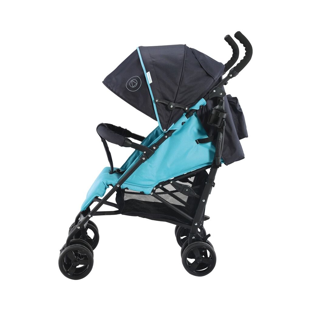 knorr-baby  Styler Happy Colour Buggy mit Liegefunktion  blau 3