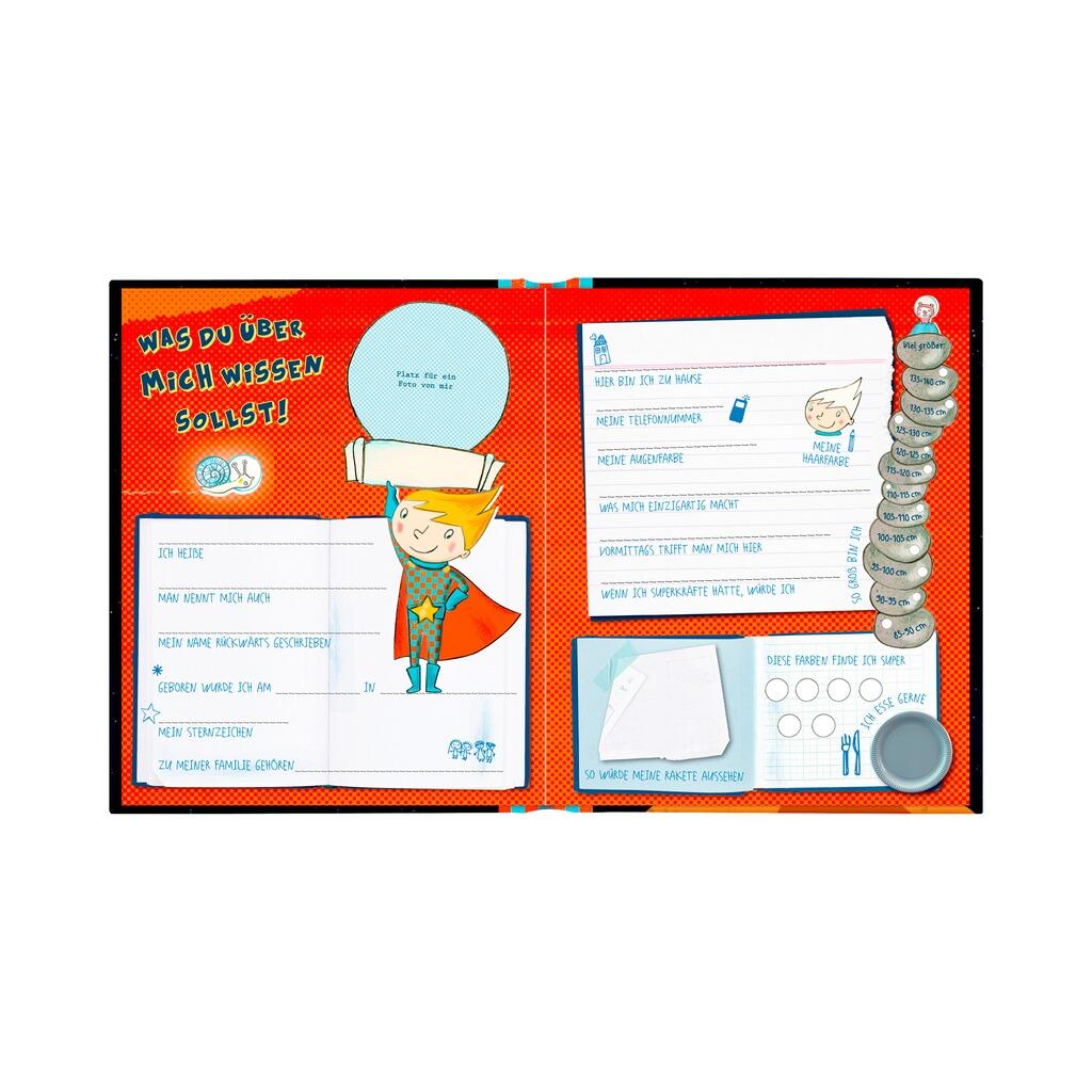 coppenrath die spiegelburg freundebuch meine super freunde super neo online kaufen baby walz. Black Bedroom Furniture Sets. Home Design Ideas