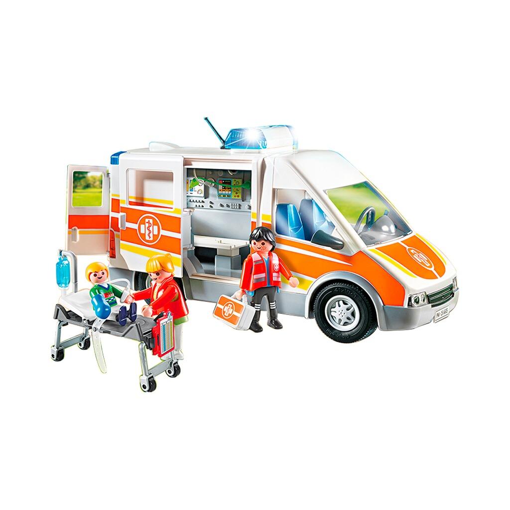 City Elsässer Licht Und Wohndesign: Playmobil® CITY LIFE 6685 Krankenwagen Mit Licht Und Sound