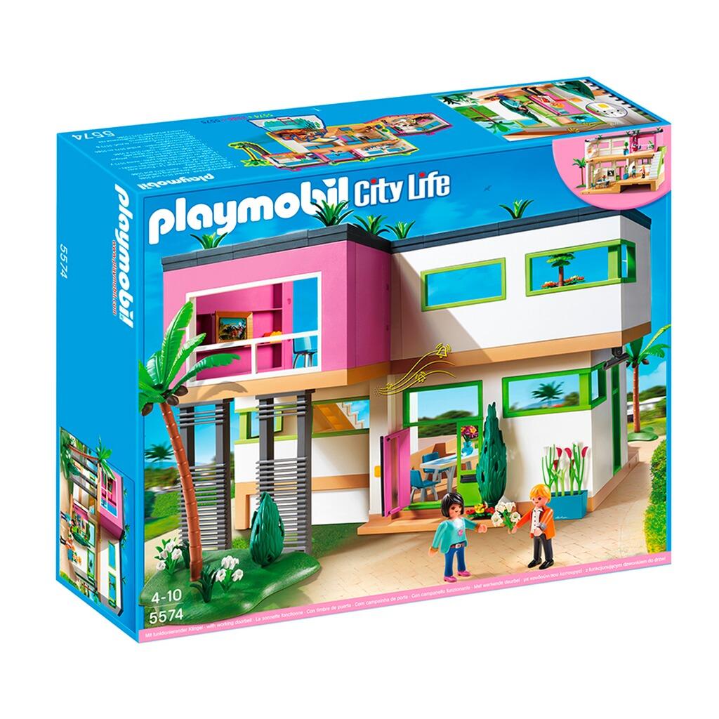 Playmobil city life 5574 moderne luxusvilla online kaufen baby walz - Playmobil esszimmer ...