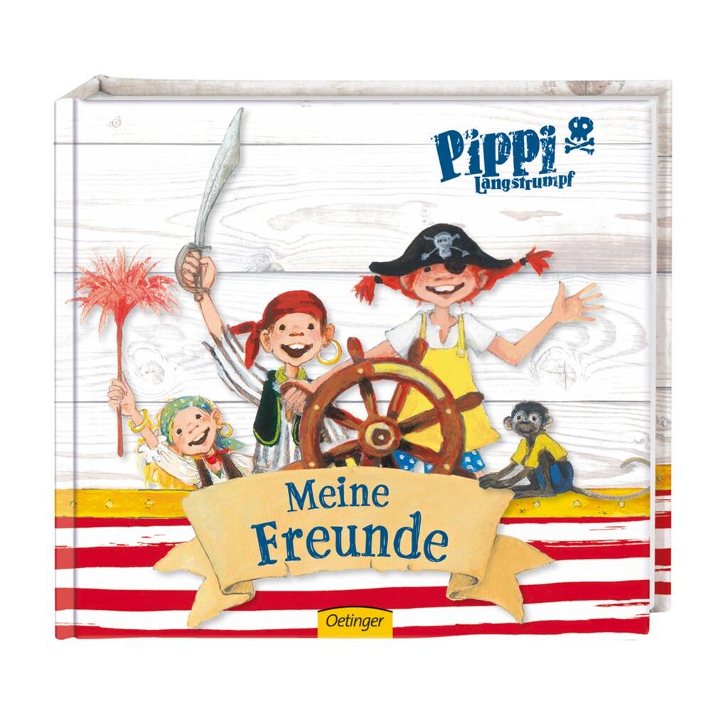 Oetinger Freundebuch Pippi Langstrumpf Meine Freunde Online Kaufen