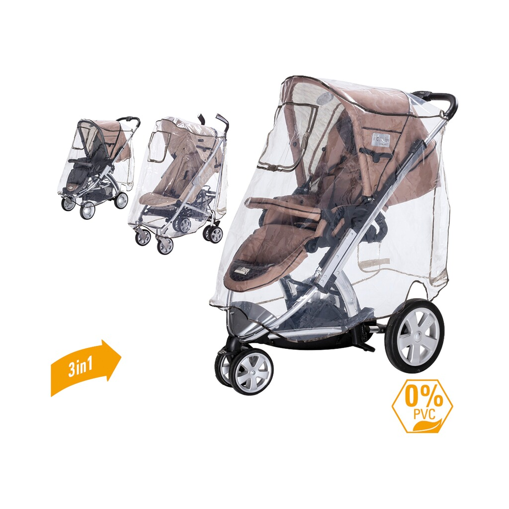 diago universal regenschutz xl komfort f r jogger sportwagen buggy online kaufen baby walz. Black Bedroom Furniture Sets. Home Design Ideas