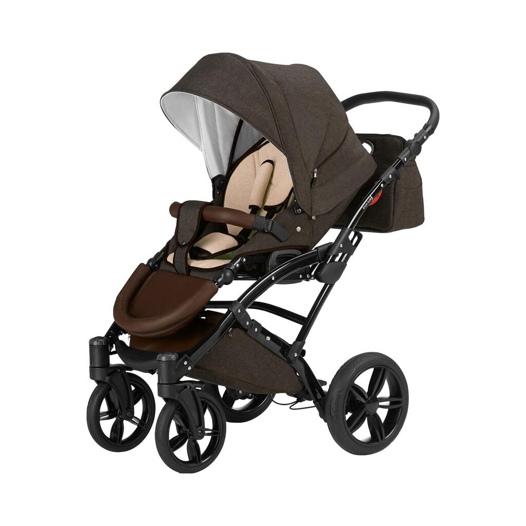 knorr baby voletto kombikinderwagen trio set mit wickeltasche online kaufen baby walz. Black Bedroom Furniture Sets. Home Design Ideas