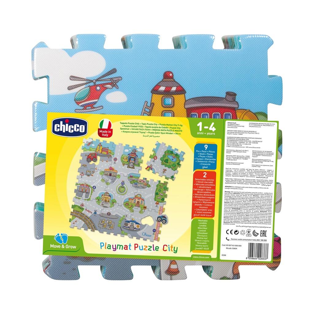 Chicco 9tlg. Puzzlematte City online kaufen | baby-walz