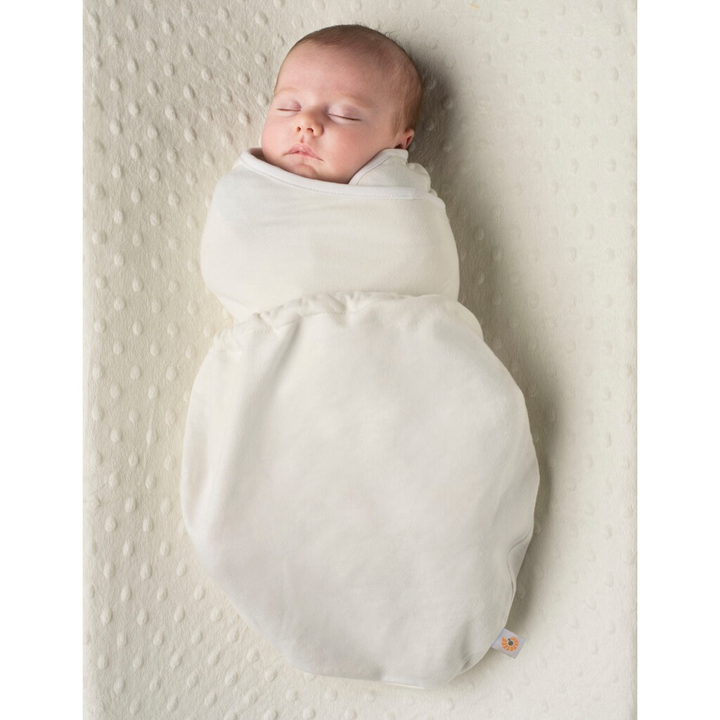 ERGOBABY®  Puck-Mich-Sack Swaddler Single  natural 2