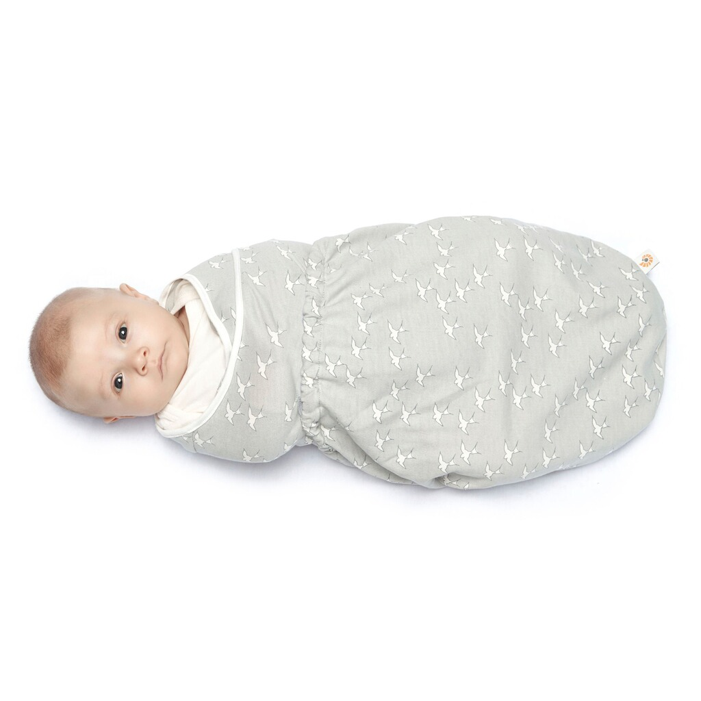 ERGOBABY®  Puck-Mich-Sack Swaddler Single  sparrow 2