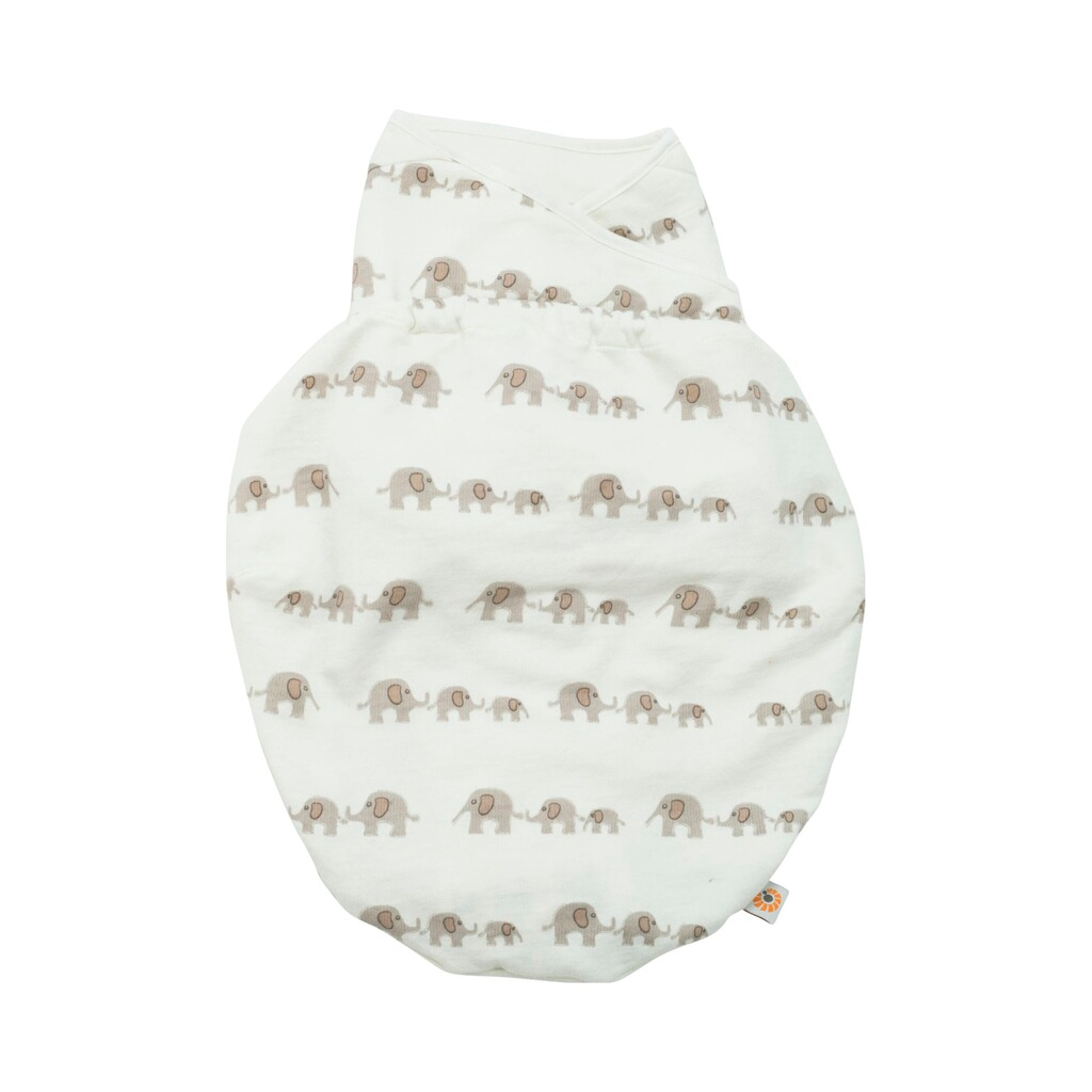ERGOBABY®  Puck-Mich-Sack Swaddler Single  elephant 1