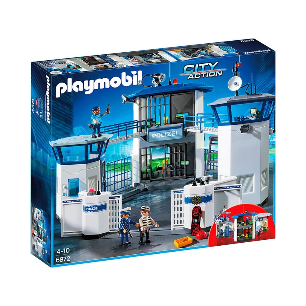 playmobil® city action 6872 polizeikommandozentrale mit