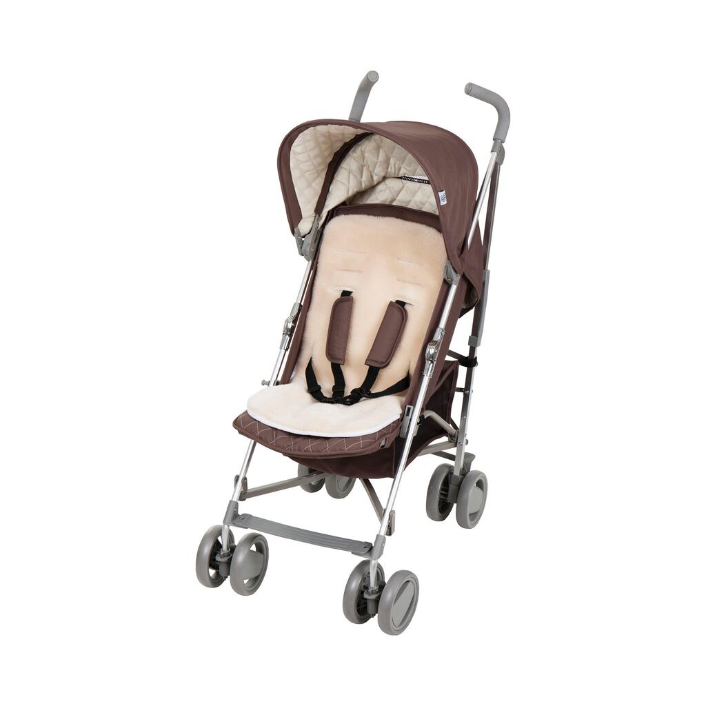 babycab sitzauflage lammfell f r kinderwagen buggy online. Black Bedroom Furniture Sets. Home Design Ideas