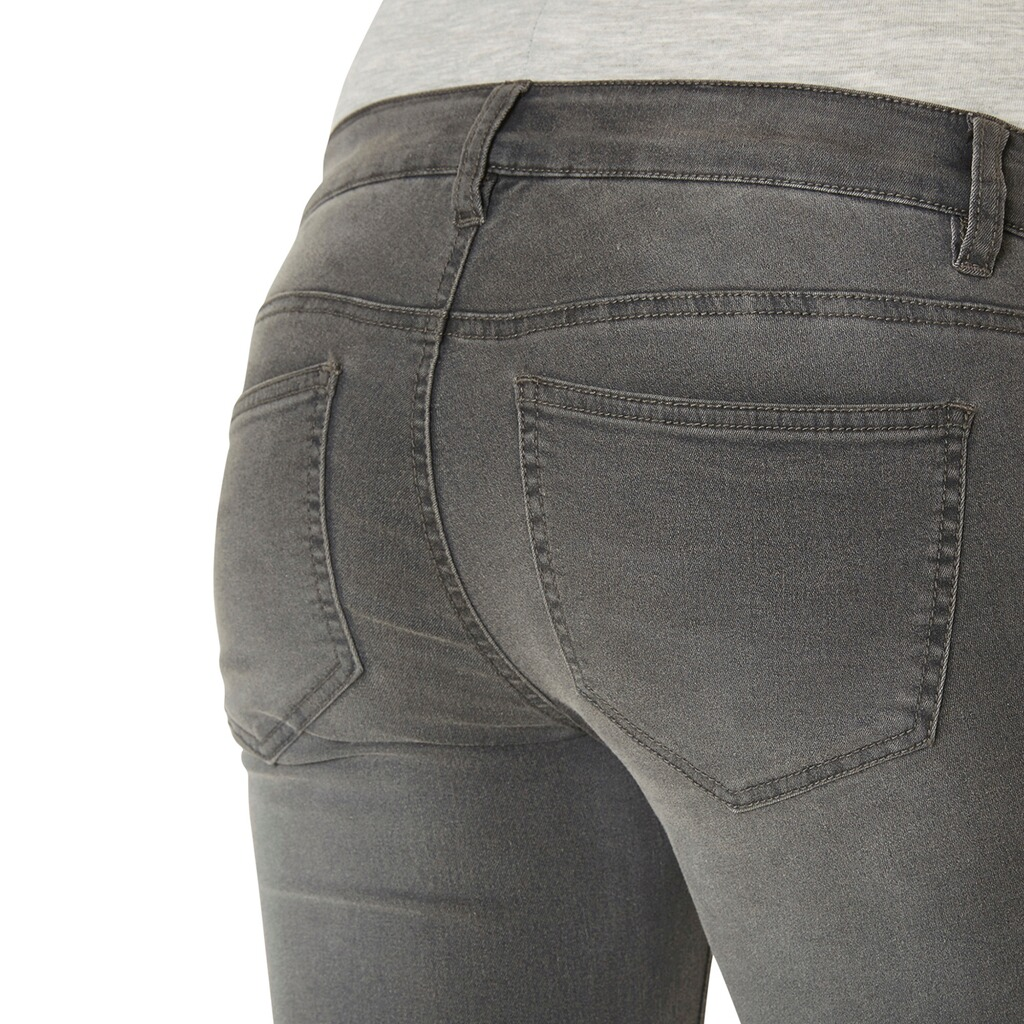 MAMALICIOUS®  Umstands-Jeans Ella Grey Skinny 3