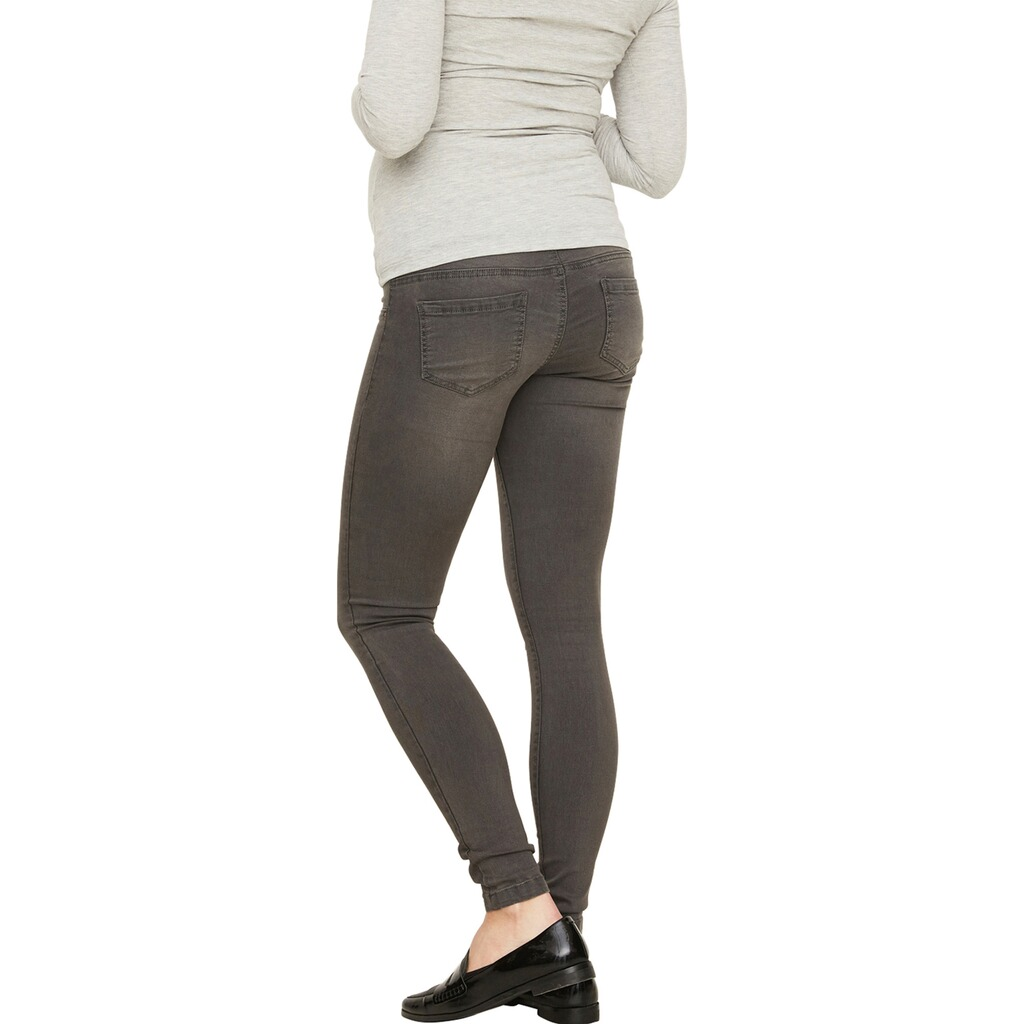 MAMALICIOUS®  Umstands-Jeans Ella Grey Skinny 5