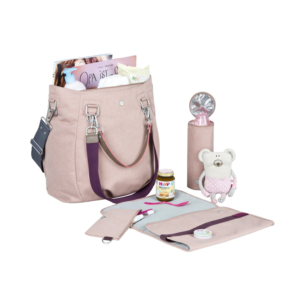 Lässig GREEN LABEL Wickeltasche Mix'n Match Bag  rose 5