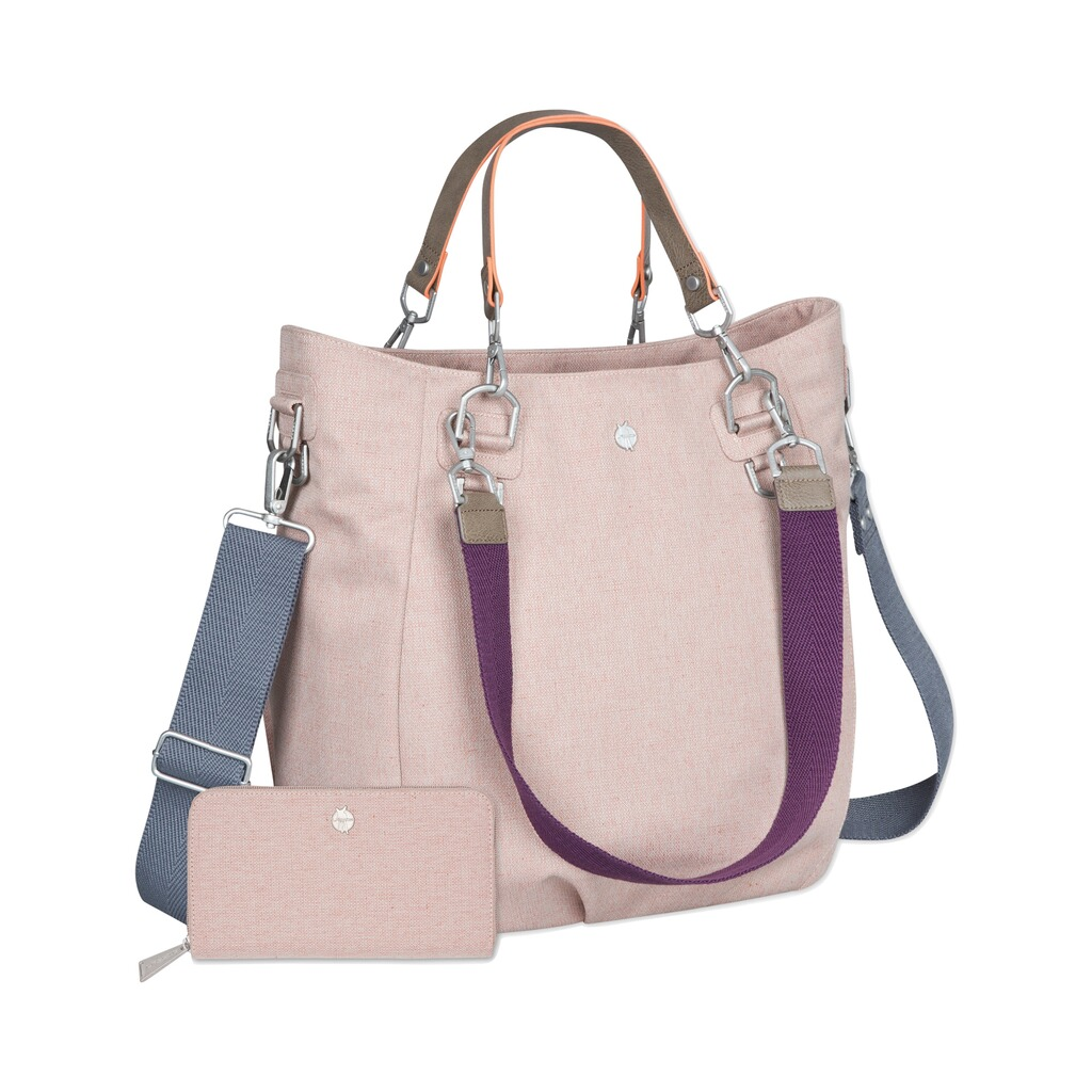 Lässig GREEN LABEL Wickeltasche Mix'n Match Bag  rose 1