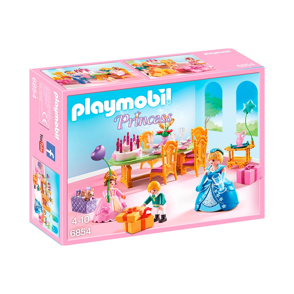 Playmobil princess 6854 geburtstagsfest der prinzessin for Kinderzimmer play 01