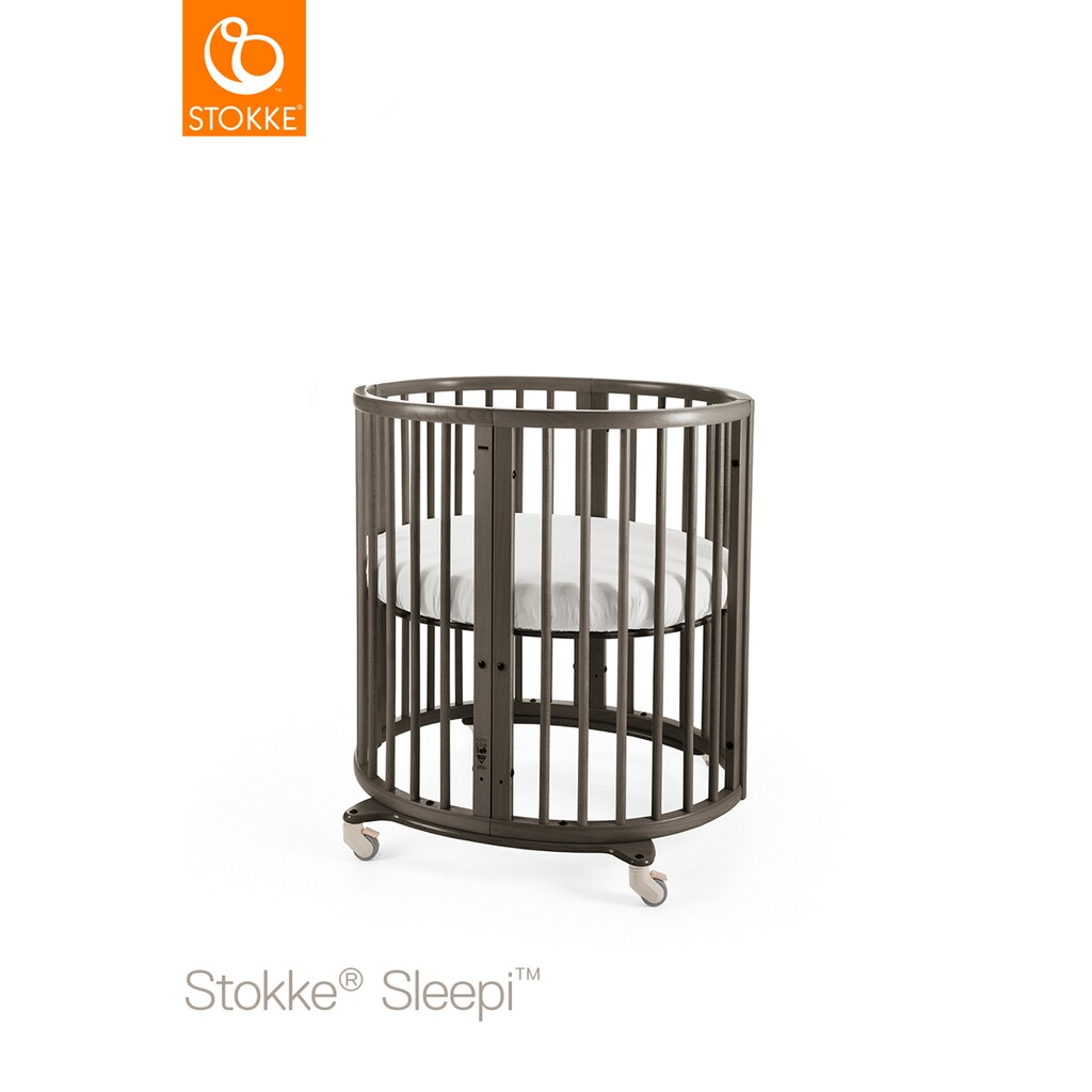 stokke sleepi babybett mit matratze sleepi minibett 0. Black Bedroom Furniture Sets. Home Design Ideas