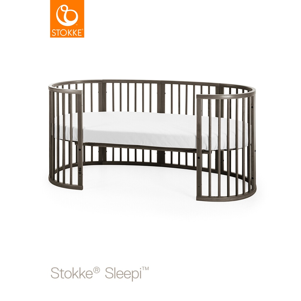 stokke sleepi babybett mit matratze sleepi 120 cm 6. Black Bedroom Furniture Sets. Home Design Ideas