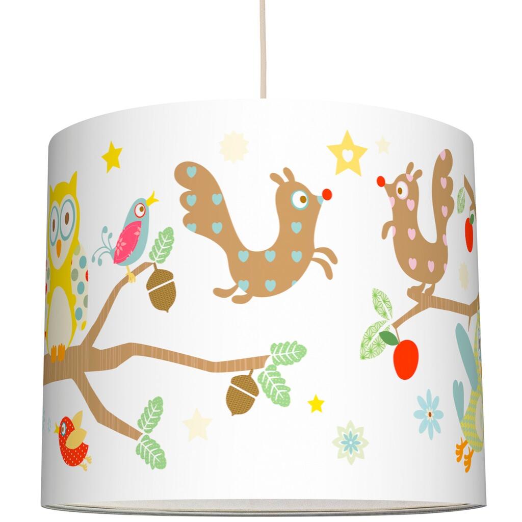 anna wand design lampenschirm funny forest 20 cm online kaufen baby walz. Black Bedroom Furniture Sets. Home Design Ideas