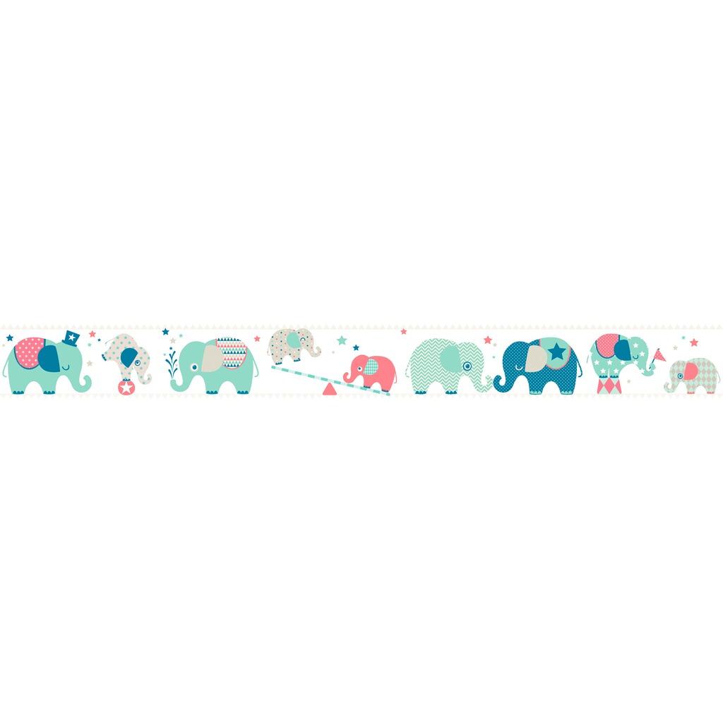 Anna Wand Design Maxi Bordure Elefanten Boys 4 5x0 46 M Online
