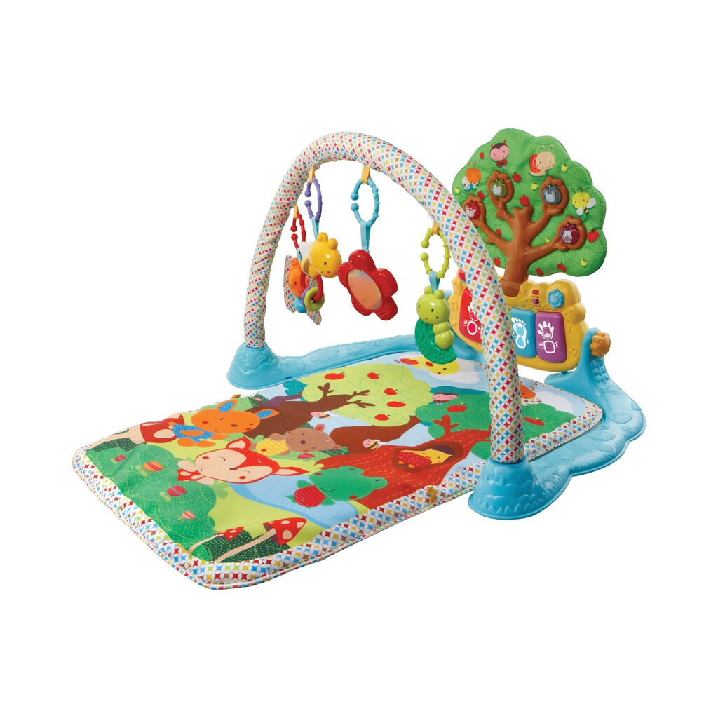 vtech baby spielbogen mit musik spieldecke online kaufen baby walz. Black Bedroom Furniture Sets. Home Design Ideas