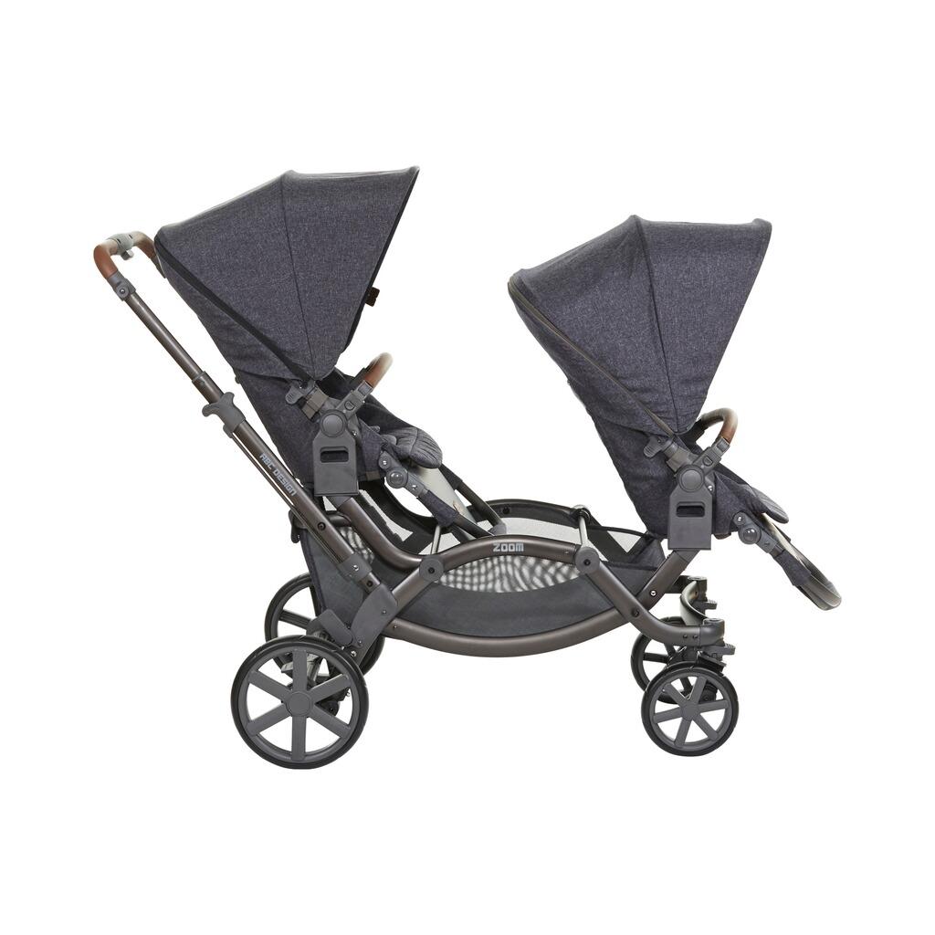 abc design zoom zwillings und geschwisterwagen inkl sportsitz online kaufen baby walz. Black Bedroom Furniture Sets. Home Design Ideas