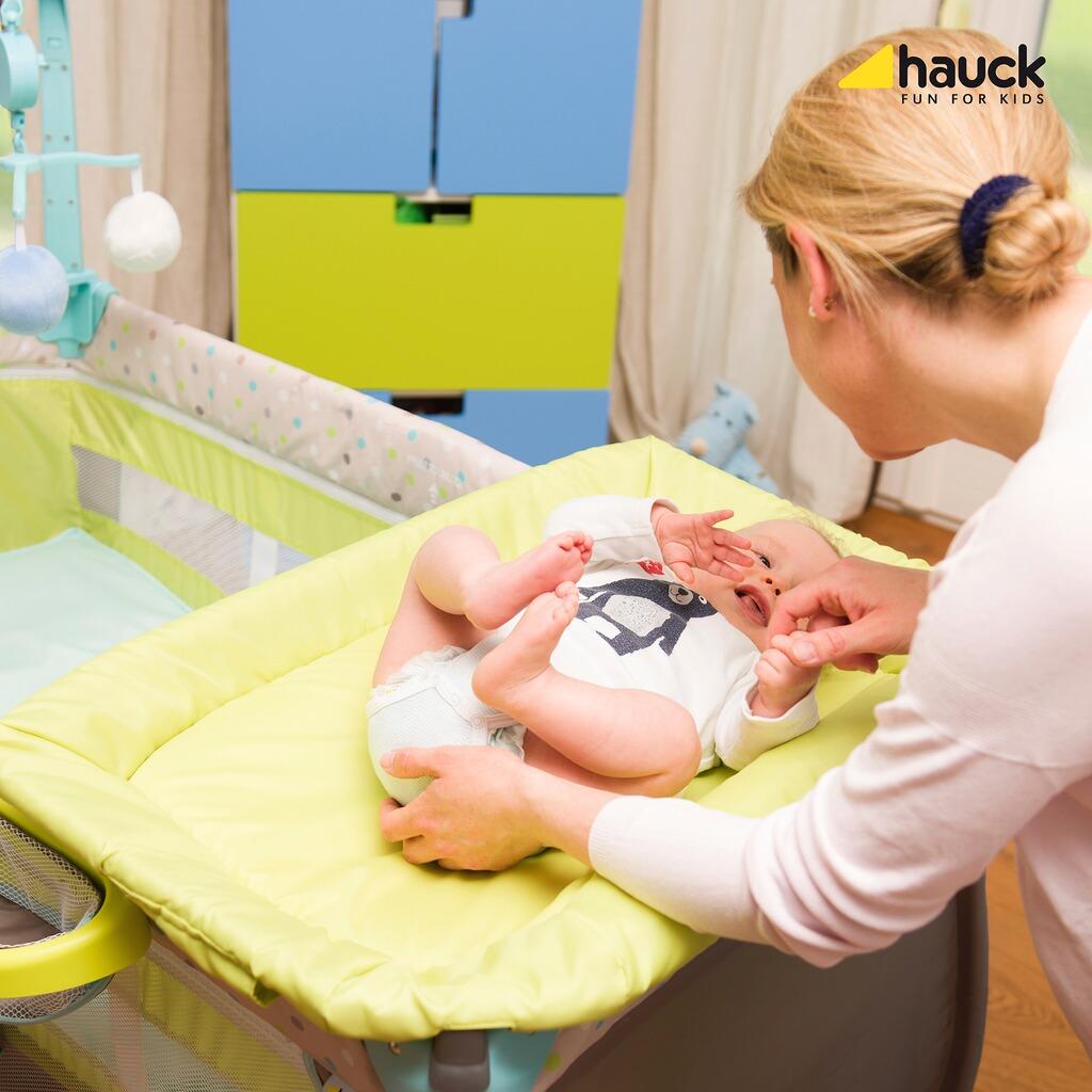 hauck babycenter reisebett online kaufen baby walz. Black Bedroom Furniture Sets. Home Design Ideas