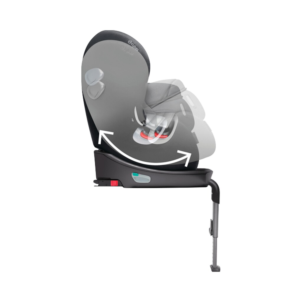 cybex platinum sirona plus kindersitz mit isofix base. Black Bedroom Furniture Sets. Home Design Ideas