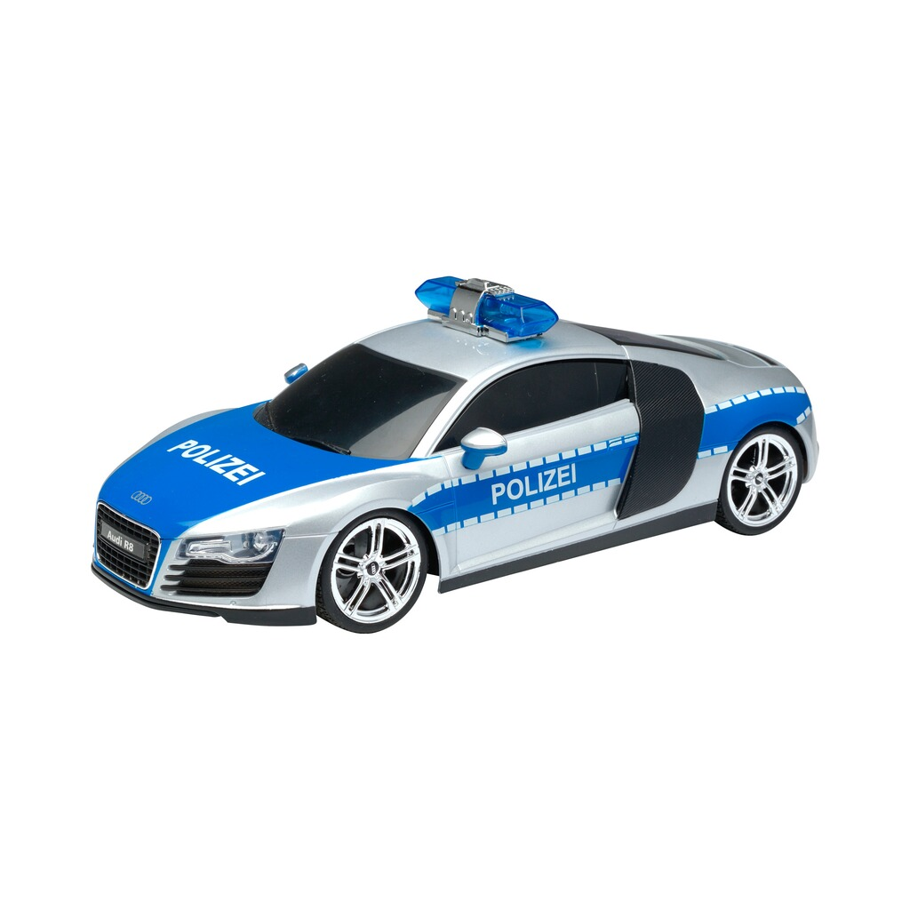xq ferngesteuertes rc polizeiauto audi r8 online kaufen. Black Bedroom Furniture Sets. Home Design Ideas