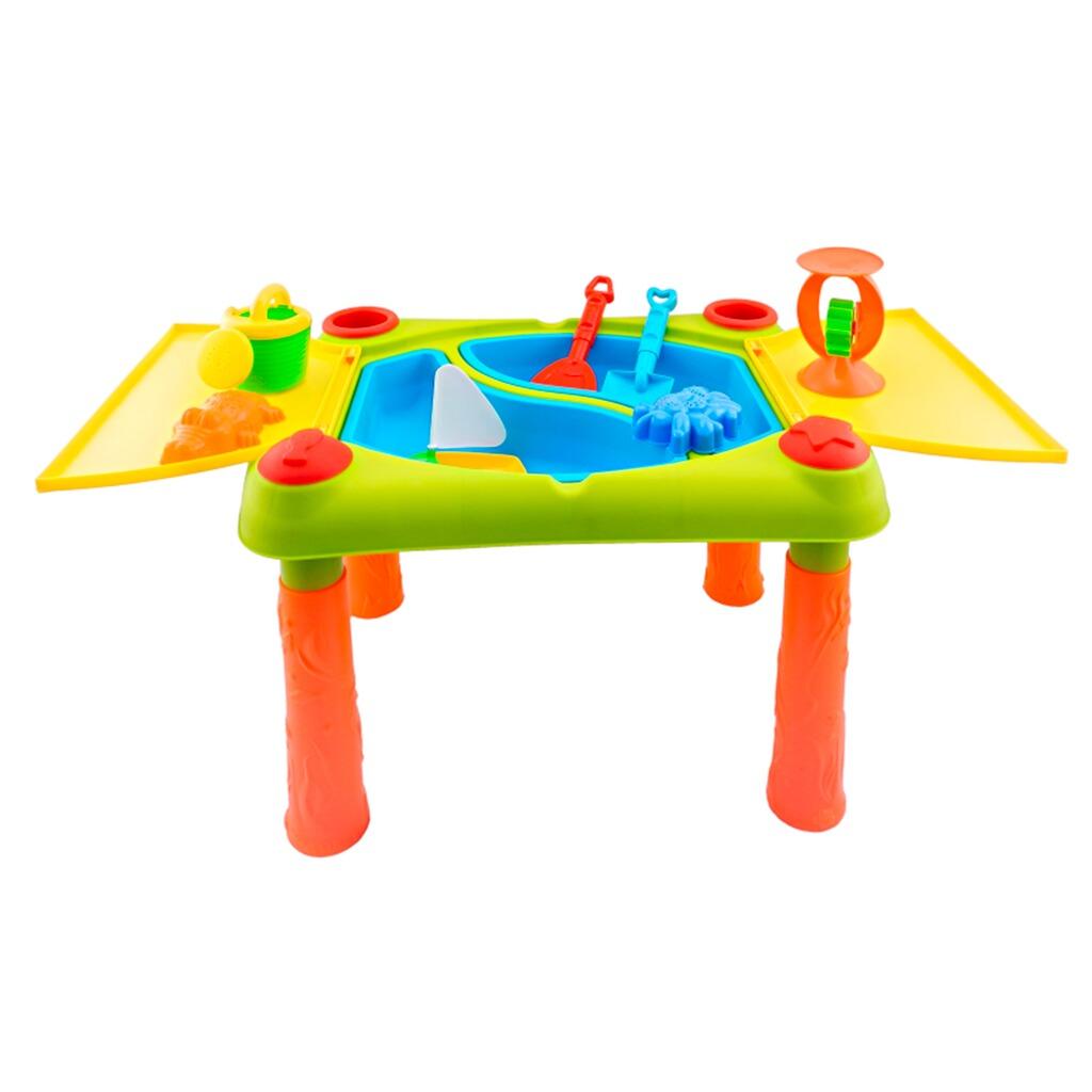 bieco wasser sand tisch set online kaufen baby walz. Black Bedroom Furniture Sets. Home Design Ideas