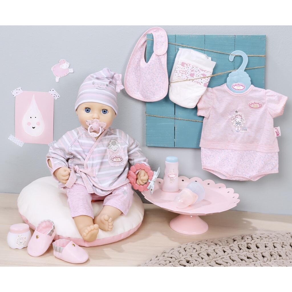 zapf baby annabell puppen outfit deluxe erstausstattung online kaufen baby walz. Black Bedroom Furniture Sets. Home Design Ideas