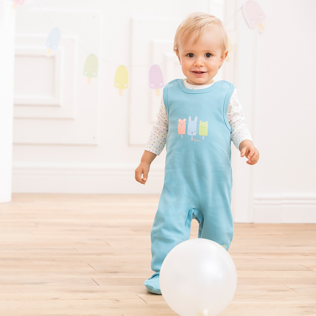 bornino confetti animals strampler set online kaufen baby walz. Black Bedroom Furniture Sets. Home Design Ideas