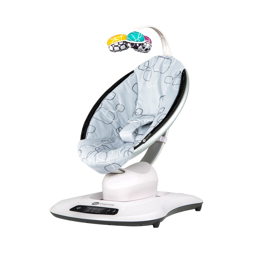 4MOMS MAMAROO 4 Babywippe 3D Silver Plush ...