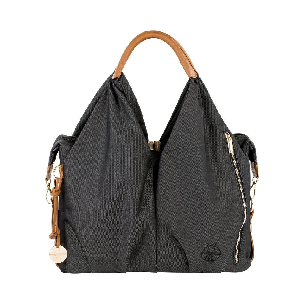 Lässig GREEN LABEL Wickeltasche Neckline Bag  denim black 1