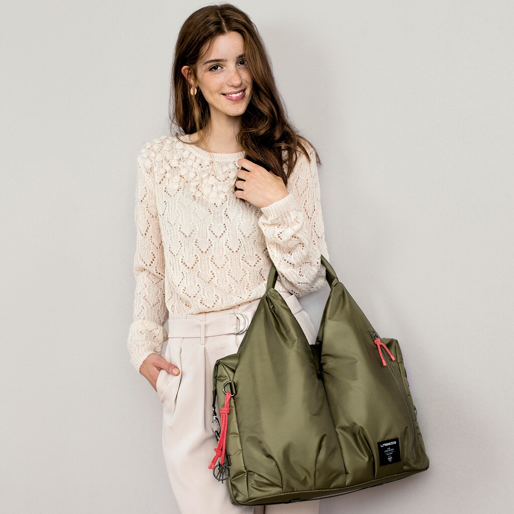 Lässig GREEN LABEL Wickeltasche Neckline Bag  pop olive 4