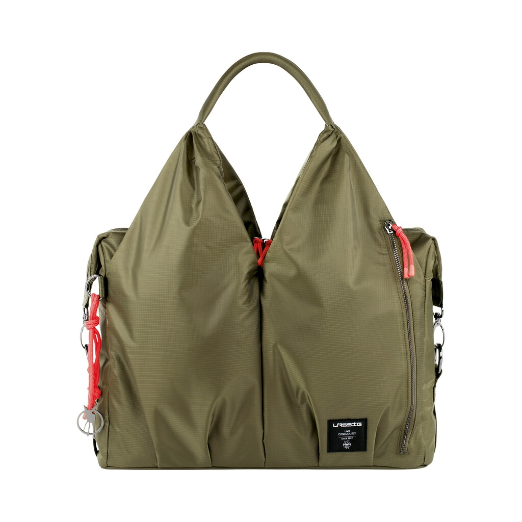 Lässig GREEN LABEL Wickeltasche Neckline Bag  pop olive 1
